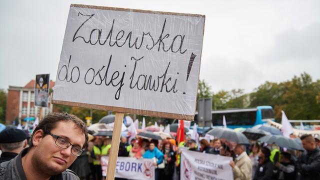PO złoży wniosek o wotum nieufności wobec minister Zalewskiej