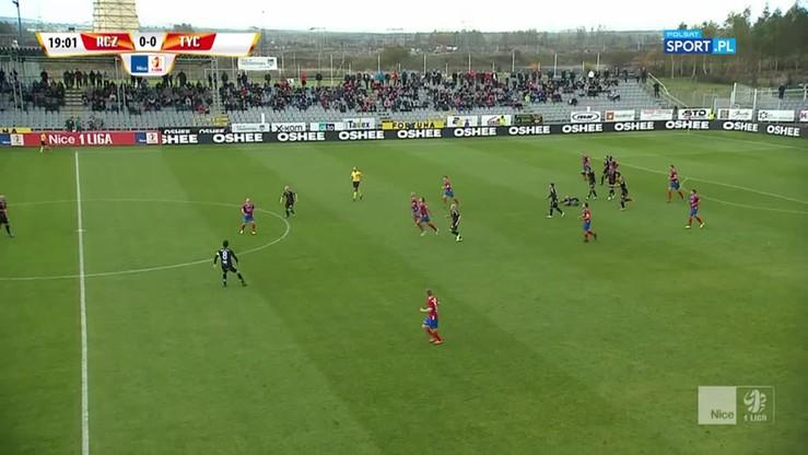 Raków Częstochowa - GKS Tychy 2:2. Skrót meczu