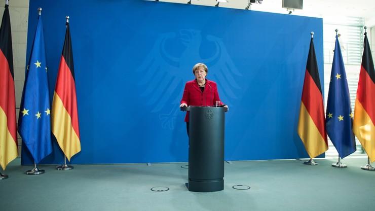 Merkel po pierwszej rozmowie telefonicznej z Trumpem
