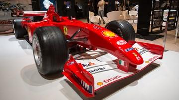 2017-11-17 Formuła 1: Bolid Schumachera sprzedany za 6,5 mln euro