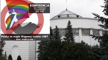 10-10-2016 15:46 Homoseksualizmem można się zarazić - twierdzi psycholog, który we wtorek wystąpi w Sejmie