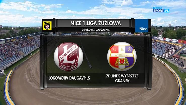 Lokomotiv Daugavpils – Zdunek Wybrzeże Gdańsk 50:28. Skrót meczu