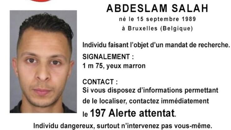 Belgia wydała list gończy za podejrzanym ws. zamachów w Paryżu