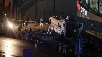 2016-12-10 Eksplozja niedaleko stadionu w Stambule! Są ofiary