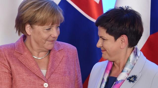 Kanclerz Niemiec rozpoczęła wizytę w Warszawie
