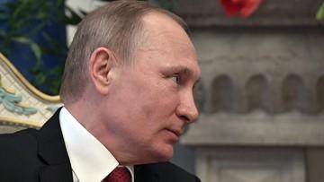"""Putin: projekt rezolucji RB ONZ ws. Syrii """"jest niewłaściwy"""""""