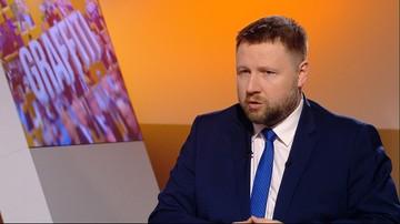 """""""Kaczyński przygotowuje ustawę na potrzeby miesięcznicy"""" - Kierwiński w programie """"Graffiti"""""""
