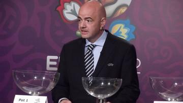 10-11-2015 13:22 Lojalny Infantino: jeśli Platini będzie kandydował na szefa FIFA wycofam się