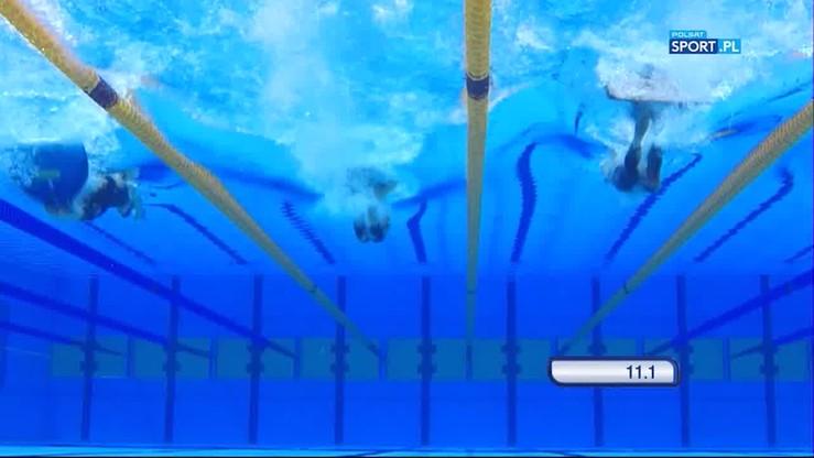 2017-07-21 TWG: Rekord świata Baranowskaji w pływaniu po powierzchni wody z użyciem monopłetwy na 200 m
