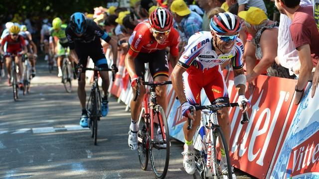 Tour de France - Rodriguez wygrał trzeci etap, Froome liderem