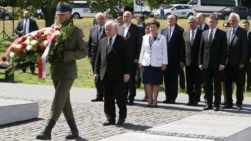 """11-07-2016 19:05 """"To było ludobójstwo"""". Kaczyński o zbrodni wołyńskiej"""