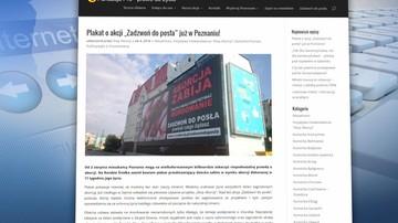 22-08-2016 21:02 Drastyczny plakat z antyaborcyjnym przesłaniem wisi w centrum Krakowa. Są protesty