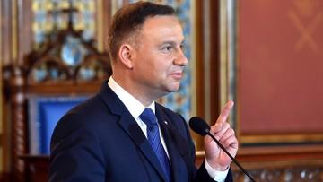 16-05-2017 19:02 Prezydent Duda: dokonywane w Polsce zmiany wynikają z decyzji obywateli