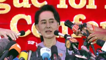 13-11-2015 07:29 Birma: wybory parlamentarne wygrała partia laureatki Pokojowej Nagrody  Nobla