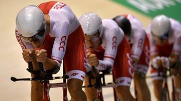 2017-10-19 ME w kolarstwie torowym: Rekordy polskich drużyn