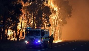 08-01-2016 07:51 Australia: pożary buszu. Spłonęło blisko 100 domów