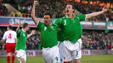 2016-06-12 Polska - Irlandia Północna. Strzelcy goli dla Irlandii Północnej