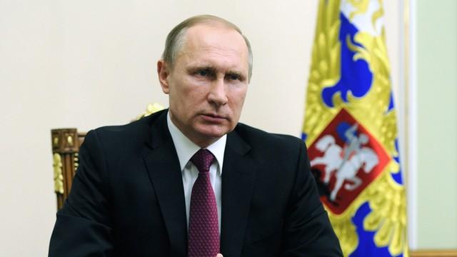 Putin składa noworoczne życzenia przywódcom - pominął Obamę i Poroszenkę