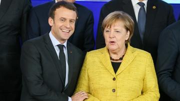 Macron i Merkel poprą KE w decyzjach dot. Polski i procedury praworządności