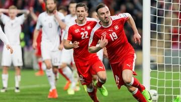 2017-03-25 El. MŚ 2018: Szwajcarzy pomęczyli się z Łotwą. Joker Drmic