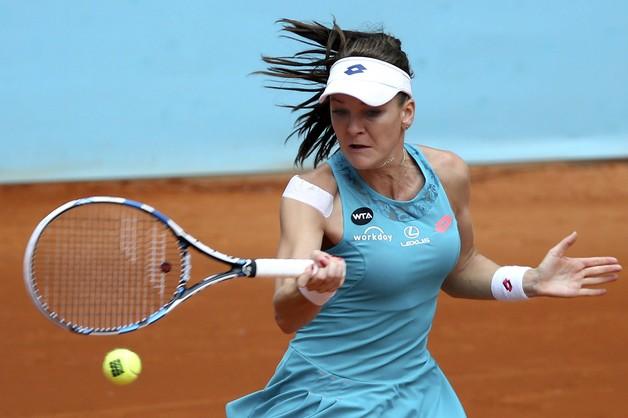 Turniej WTA w Madrycie: Radwańska awansowała do 1/8 finału