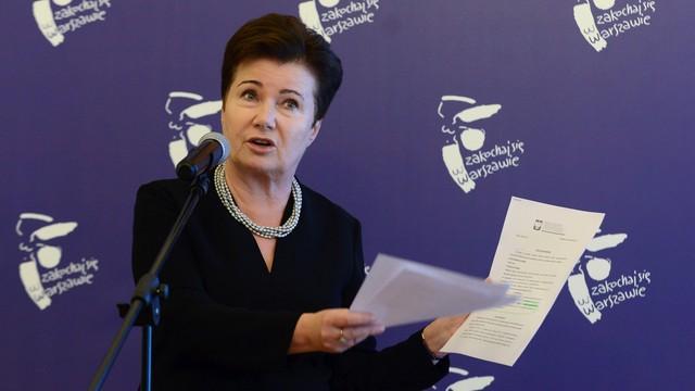 Hanna Gronkiewicz-Waltz zaskarżyła ustalenia komisji weryfikacyjnej