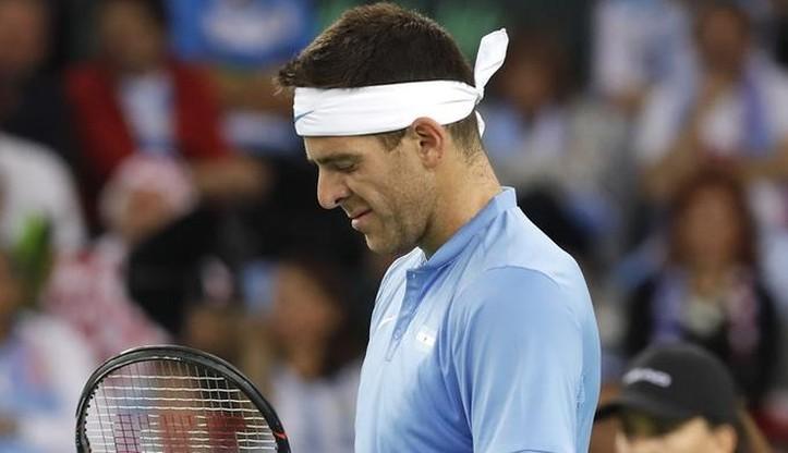 ATP w Paryżu: Del Potro przegrał i stracił szansę na Masters