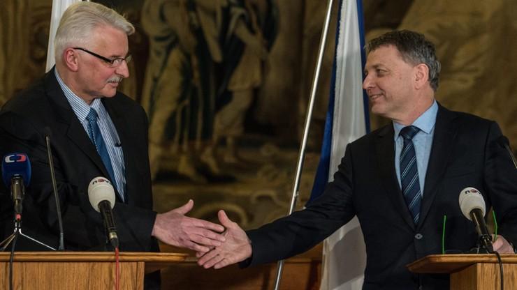 Waszczykowski w Pradze: Polsce zależy na utrzymaniu dynamicznej współpracy wyszehradzkiej