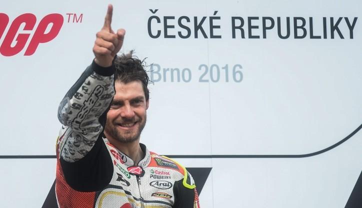 MotoGP: Crutchlow wygrał szalone GP Czech w Brnie!