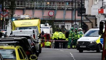 """15-09-2017 15:17 """"Eksplodował zaimprowizowany ładunek wybuchowy"""". Policja o wybuchu w londyńskim metrze"""