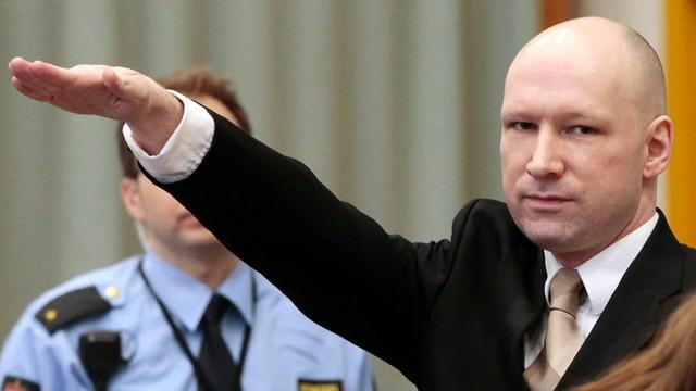 Norwegia: Sąd Najwyższy nie rozpatrzy odwołania Breivika