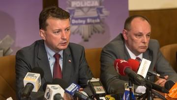 25-05-2016 05:11 Błaszczak: bardzo nam zależy by wyjaśnić sprawę śmierci 25-latka na komisariacie