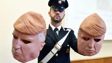 25-07-2017 13:57 Zakładali maski Donalda Trumpa i okradali bankomaty