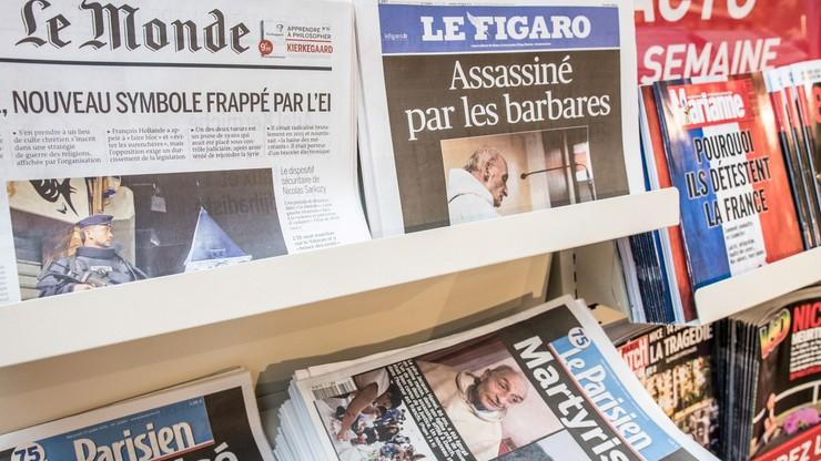 Francja: debata o unikaniu publikacji nazwisk i zdjęć zamachowców