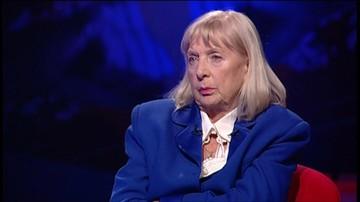 """01-10-2016 21:42 """"Skandaliści"""": Maria Kiszczak o mężu - """"jest bohaterem, zmienił ustrój"""""""