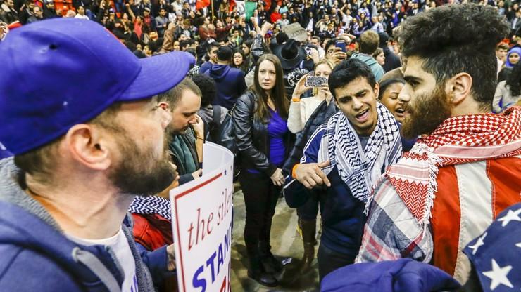 USA: Wiec Trumpa w Chicago odwołany z powodu protestów