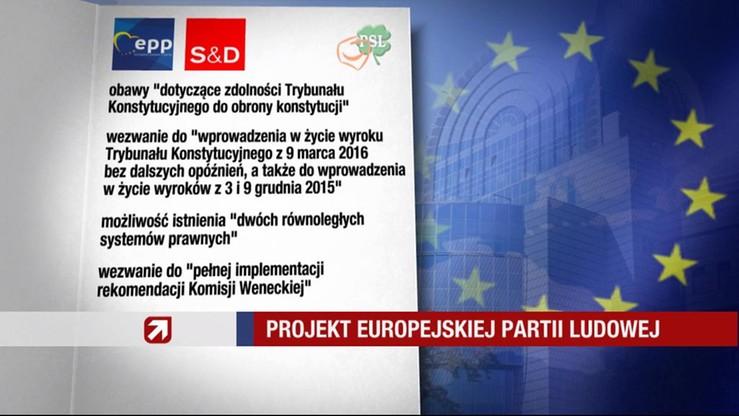 """PE ma przyjąć rezolucję o Polsce. """"To wyraz troski"""""""