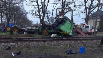 Pociąg Pendolino uderzył w tira. Kilkanaście osób rannych