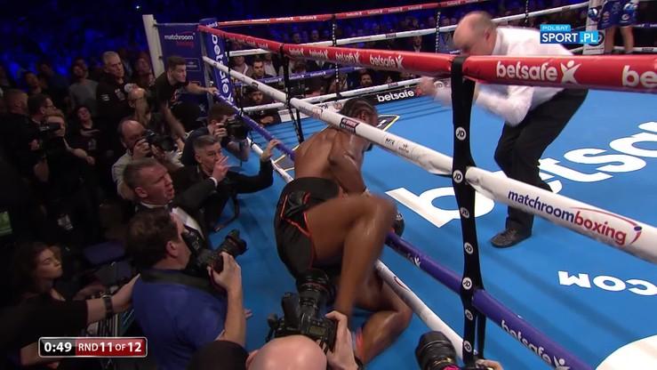 Haye wypadł z ringu! Bellew sprawcą sensacji