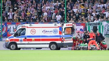 13-08-2017 17:38 Chwile grozy w Zabrzu. Piłkarz stracił przytomność po zderzeniu z rywalem