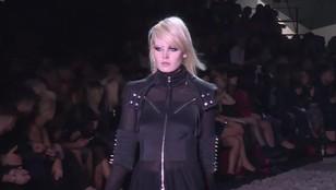 Powrót punkowej mody - celebrytki na pokazie Lidii Kality