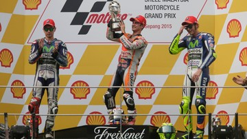 2015-10-25 GP Malezji: Zwycięstwo Pedrosy, mistrz wciąż nieznany