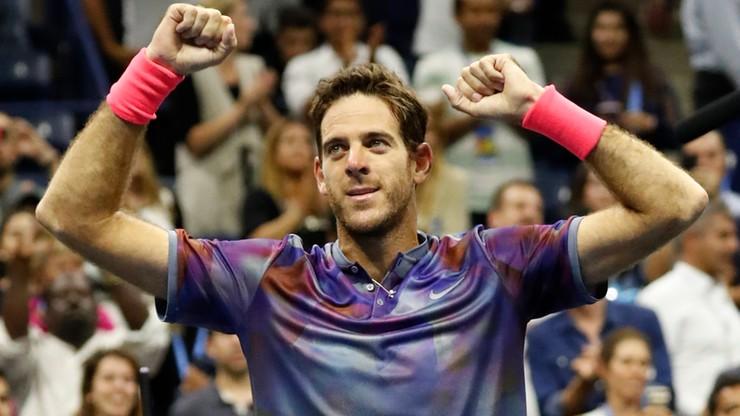 US Open: Nie będzie półfinału Nadal - Federer! Del Potro pokrzyżował plany