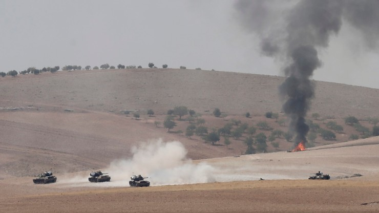 Reuters: tureckie czołgi wjechały na terytorium Syrii