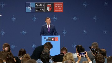 09-07-2016 18:09 Prezydent Duda: decyzje szczytu NATO są korzystne dla Sojuszu i dla Polski