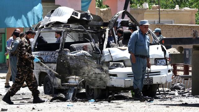 Afganistan: zamach na pracowników sądu w Kabulu, 10 osób zabitych