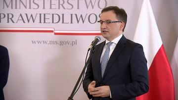 Ziobro: KRS dopuściła się bezprawia w stosunku do asesorów sądowych