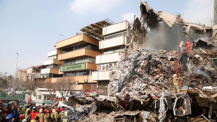 Znaleziono kolejne ofiary w ruinach wieżowca w Iranie