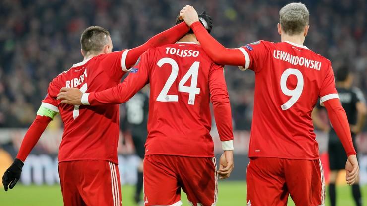 Liga Mistrzów: Bayern Monachium lepszy od PSG. Bramka Lewandowskiego
