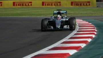 2016-10-29 GP Meksyku: Hamilton wygrał kwalifikacje